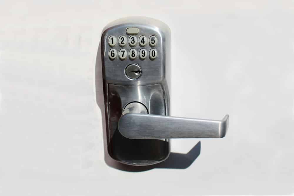 door knob with combination